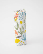 Cotton Swaddle - Meadow