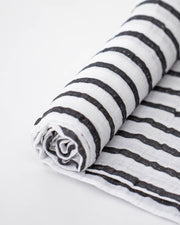 Breton Stripes - Cotton Muslin Swaddle Single