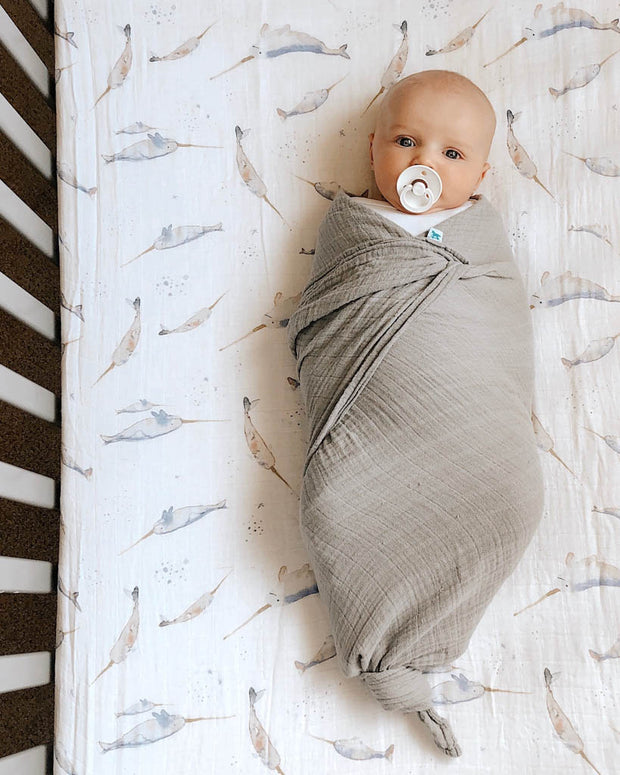 Cotton Muslin Swaddle Blanket Set - Planetary