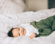 Cotton Muslin Swaddle Blanket - Fern