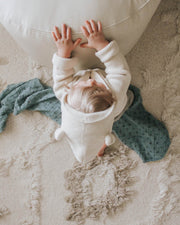 Cotton Muslin Swaddle Blanket - Wallflower