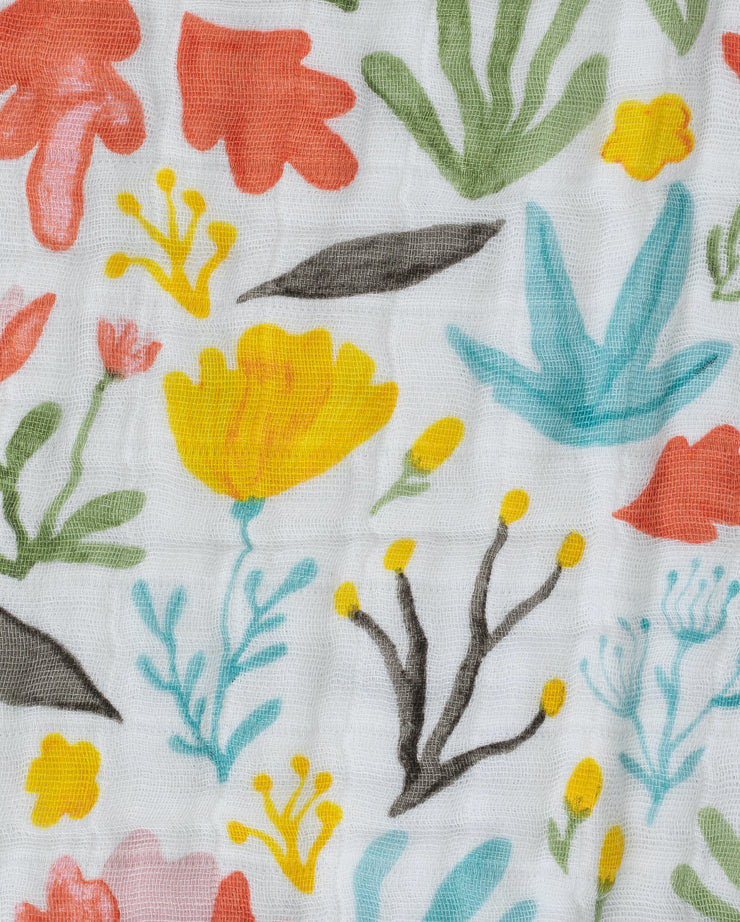 Cotton Muslin Quilt - Meadow