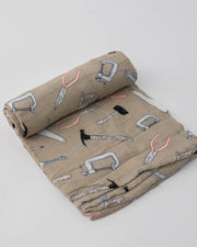 Deluxe Muslin Swaddle Blanket - Work Bench