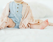 Deluxe Muslin Swaddle Blanket - Pink Windowpane