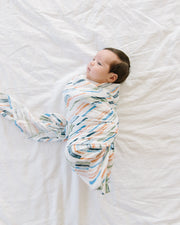 Deluxe Muslin Swaddle Blanket Set - Home Run