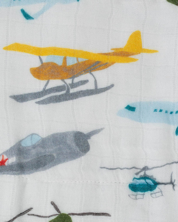 Deluxe Muslin Quilt - Air Show