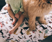 Big Kid Cotton Muslin Quilt - Woof