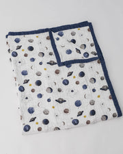 Big Kid Cotton Muslin Quilt- Planetary