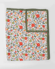 Big Kid Cotton Muslin Quilt- Primrose Patch