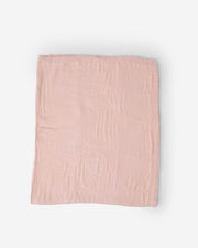 Deluxe Muslin Quilt Big Kid - Blush