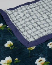Deluxe Muslin Quilt Big Kid - White Anemone