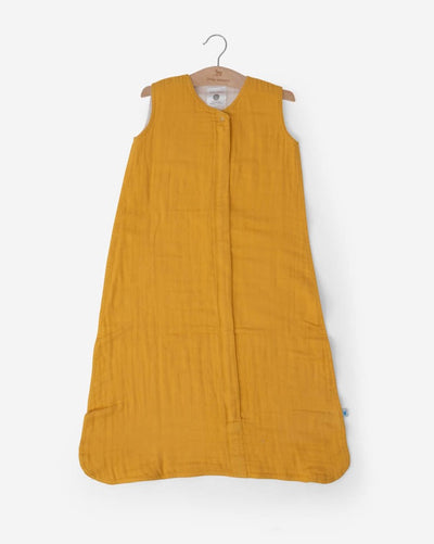 Cotton Muslin Sleep Bag - Mustard