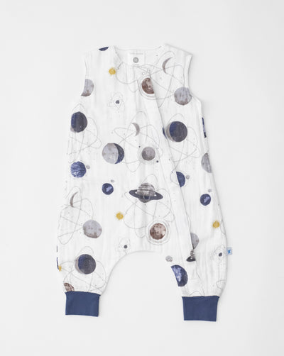 Cotton Muslin Romper  - Planetary
