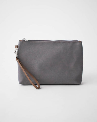 Canvas Pouch - Grey