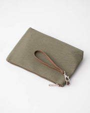Canvas Pouch - Olive
