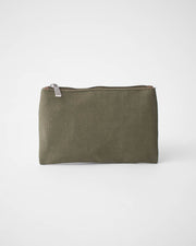 Small Canvas Pouch - Olive