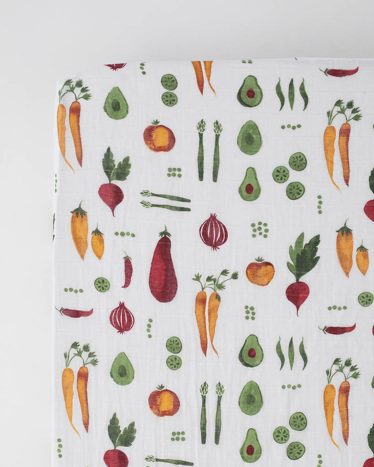 Farmers Market Fruit and Vegetable Food Themed 100/% Cotton Patchwork Fabric