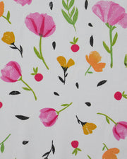 Percale Crib Sheet - Berry & Bloom