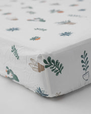 Percale Crib Sheet - Prickle Pots