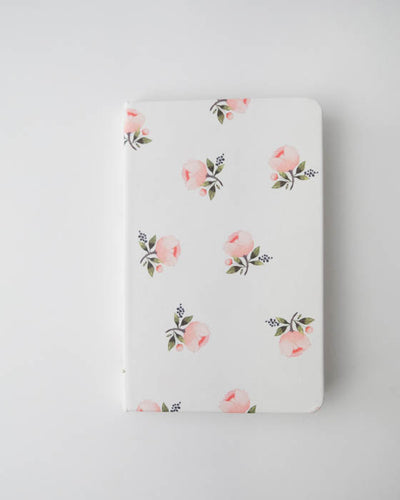 Hard Cover Journal - Watercolor Rose