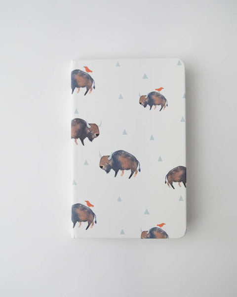 Hard Cover Journal - Bison