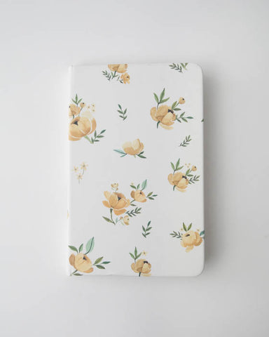 Blank Page Journal - Yellow Rose