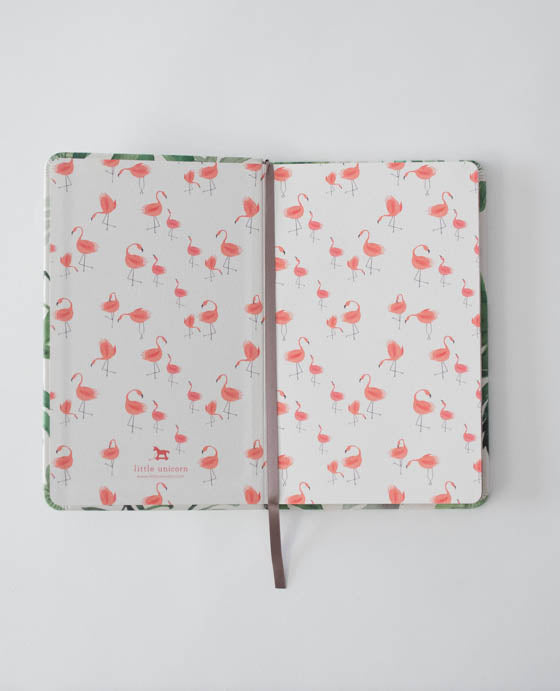 Hard Cover Journal - Tropical Leaf