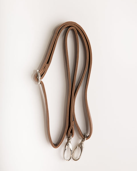 Leather Shoulder Strap - Brown