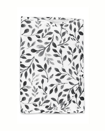 Diaper Bag Changing Pad - Black Floral