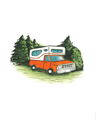 Printable Download - Happy Camper 1
