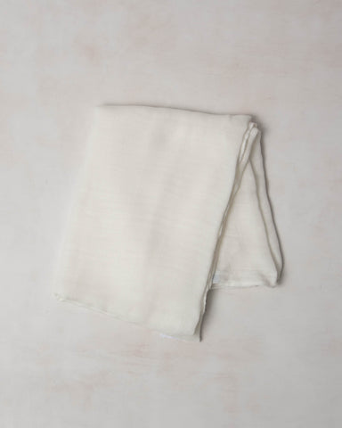 Deluxe Swaddle - Plain White