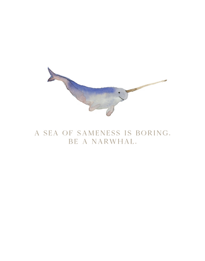 Printable Download - Narwhal
