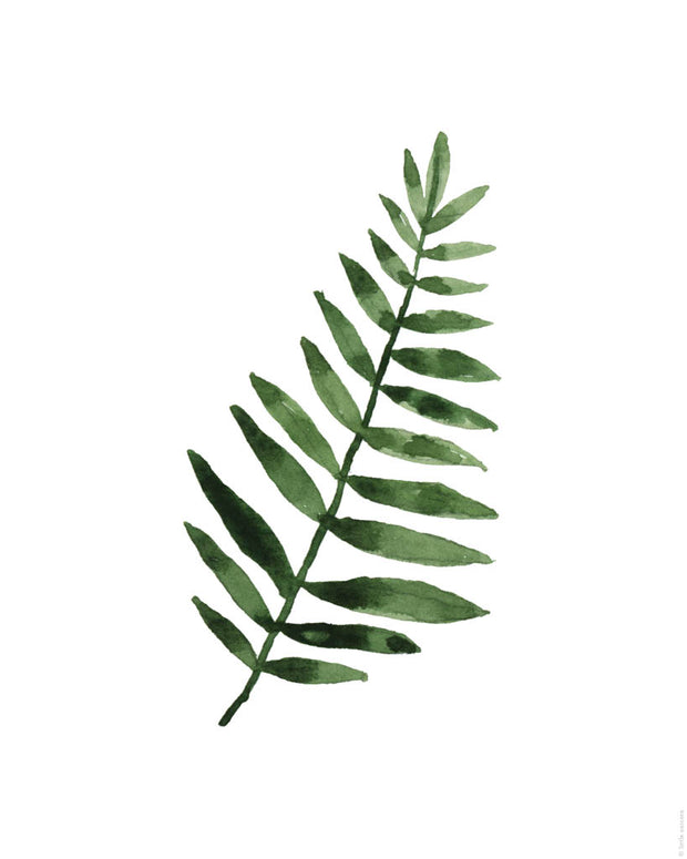 Printable Download - Tropical Leaf 3