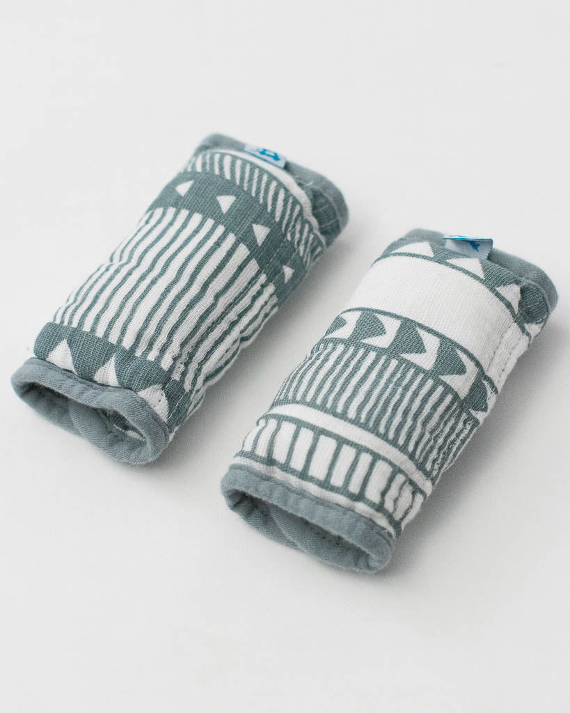 Cotton Muslin Strap Covers - Santa Fe