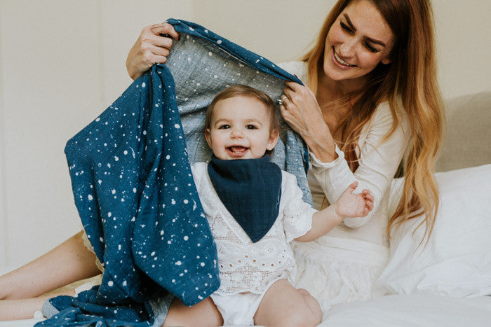 Cotton Muslin Swaddle Single - Star Sailing