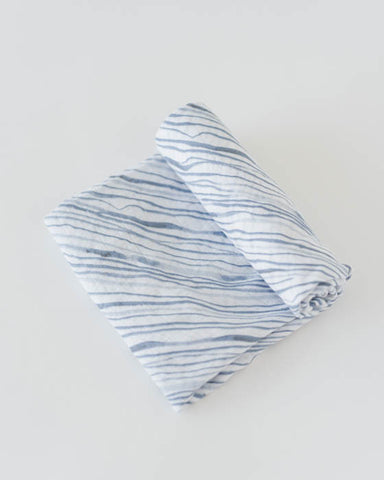 Cotton Swaddle - Ripple