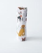 Cotton Muslin Swaddle Single - Woof