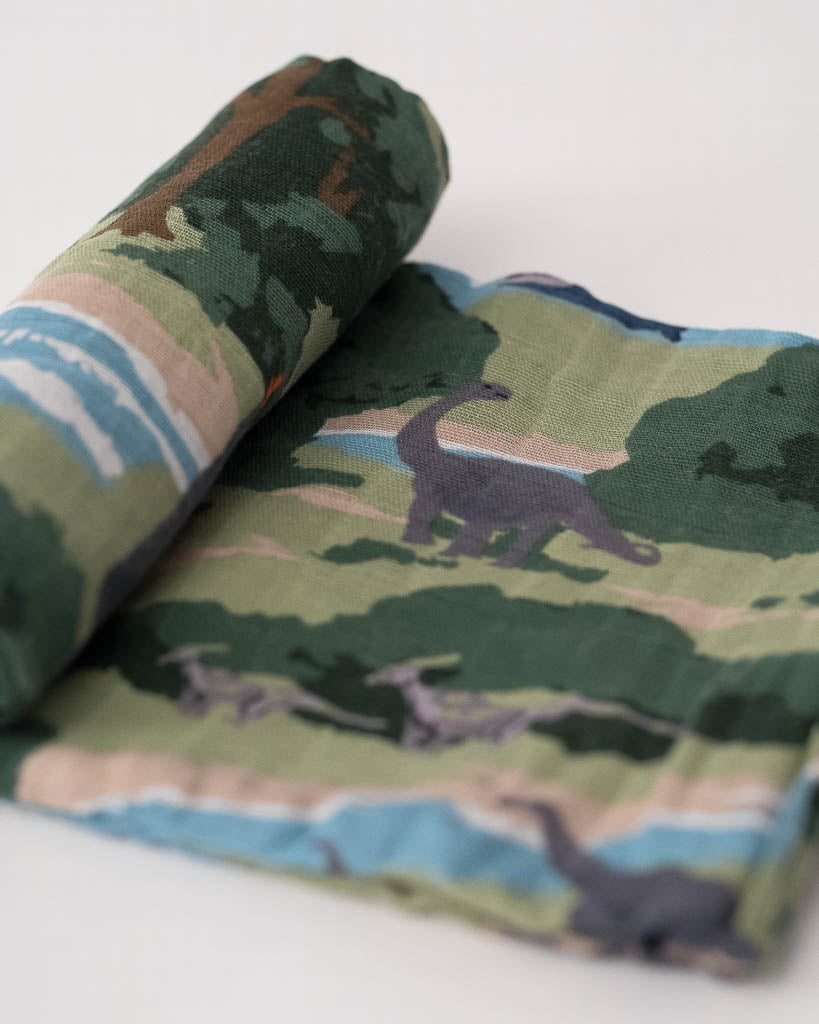 LU + Jurassic World Cotton Swaddle - Jurassic World
