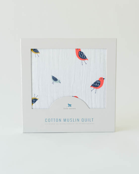 Cotton Muslin Quilt - Little Wings