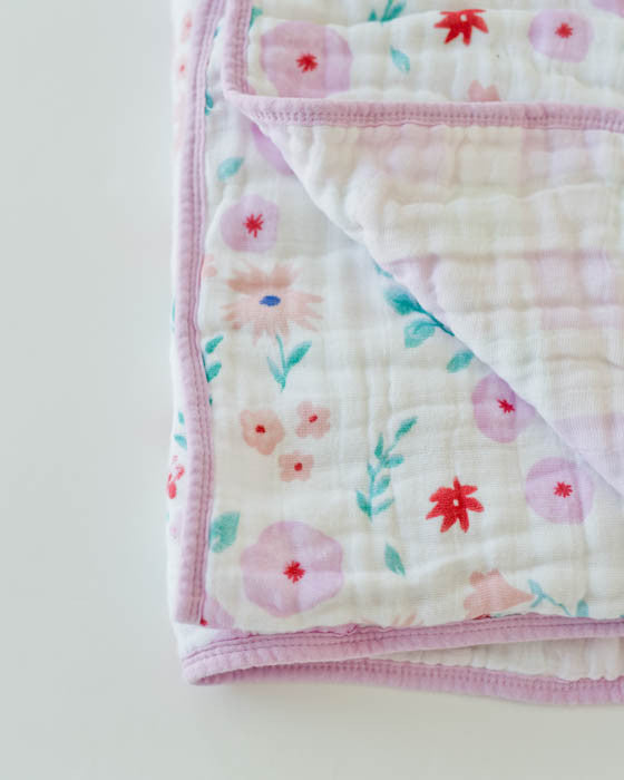 Cotton Muslin Quilt - Morning Glory