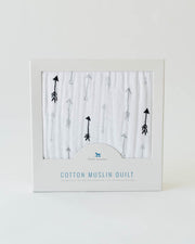 Cotton Muslin Quilt - Arrow