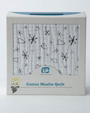 Cotton Muslin Quilt - Jacks
