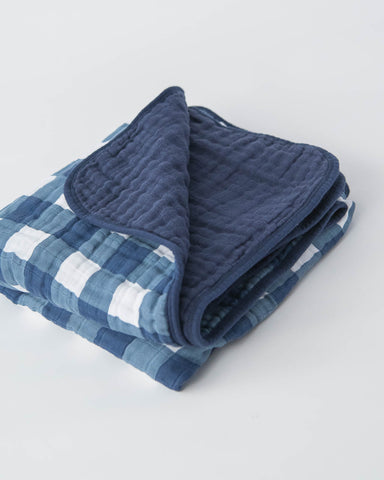 Cotton Muslin Quilt - Jack Plaid