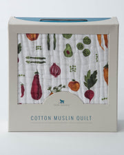 Cotton Muslin Quilt - Farmers Market