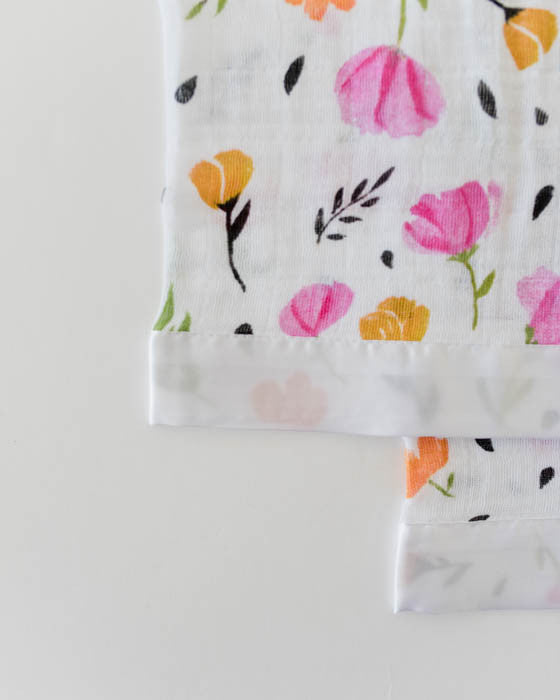 Cotton Security Blankets - Berry & Bloom