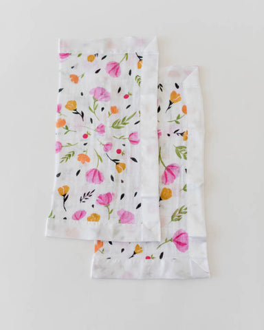 Cotton Muslin Security Blankets - Berry & Bloom