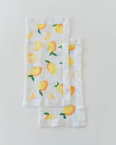 Cotton Security Blankets - Lemon
