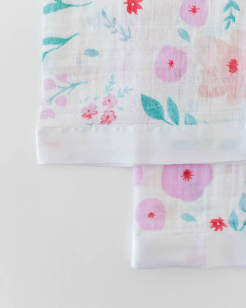 Cotton Muslin Security Blankets - Morning Glory