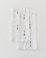 Cotton Muslin Security Blankets - Arrow