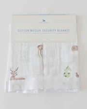 Cotton Muslin Security Blankets - Deer